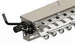 Mechanical slide gate control