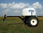 1200-gallon tank with cart